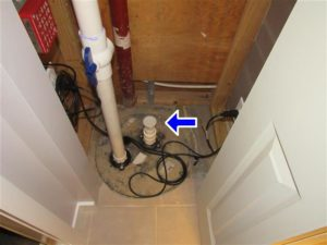 Sump Pump Problems Found During a Central Michigan Home Inspection