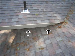 Problems with a roof found during a west Michigan home inspection